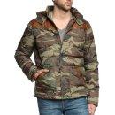 chaqueta camuflaje hombre